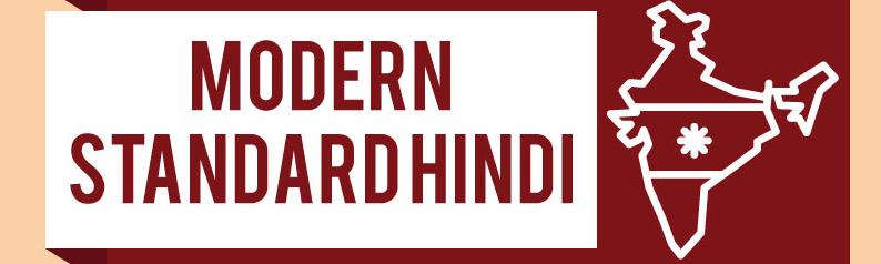 modern standard hindi language